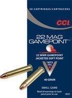 CCI .22 WMR GamePoint JSP pienoiskiväärin patruuna