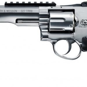 Smith & Wesson 327 TRR8 Silver